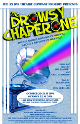 The Drowsy Chaperone Theatre Poster